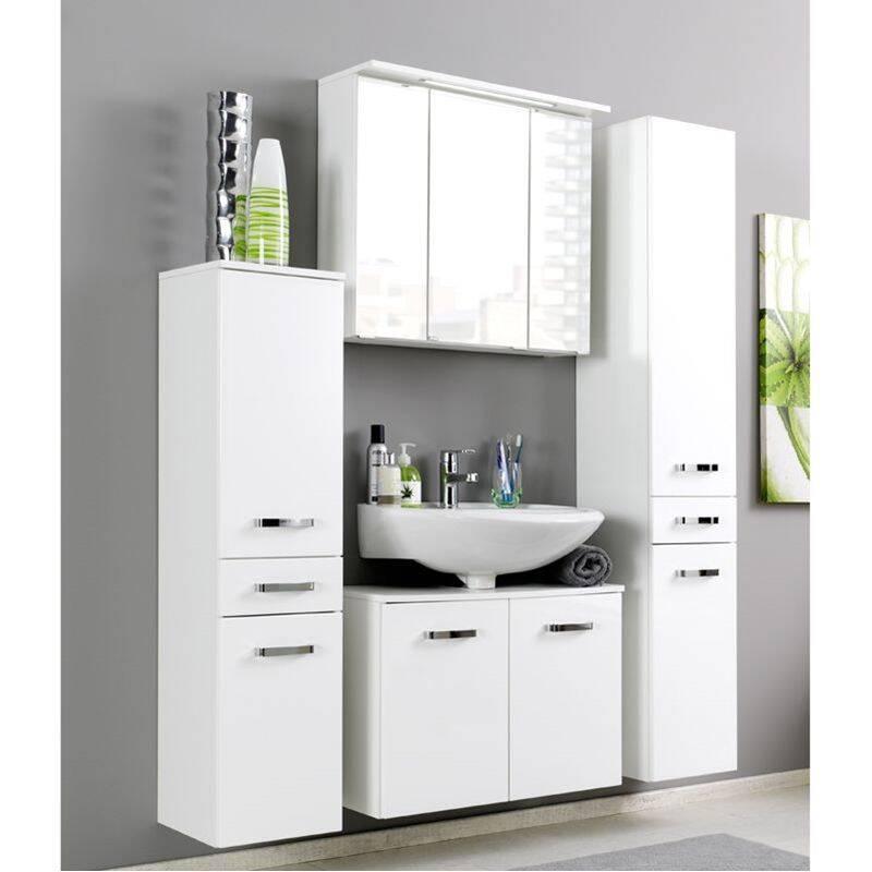 midischrank padua 03 hochglanz wei b x h x t. Black Bedroom Furniture Sets. Home Design Ideas