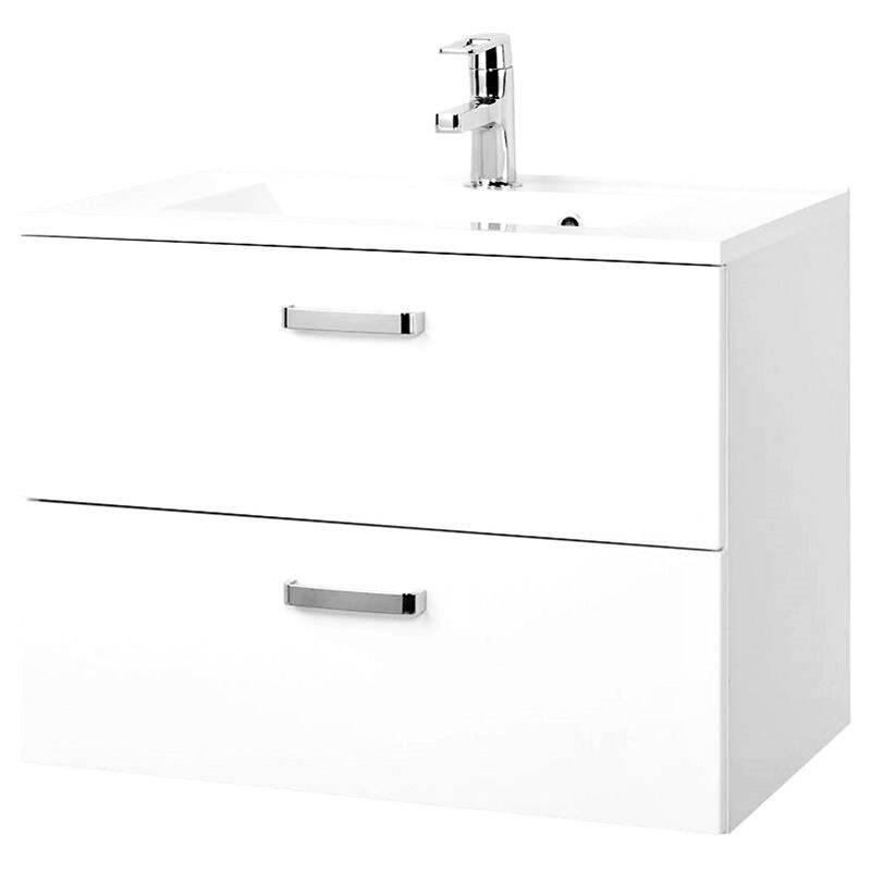 Waschtisch PADUA-03 Hochglanz weiß, 70cm