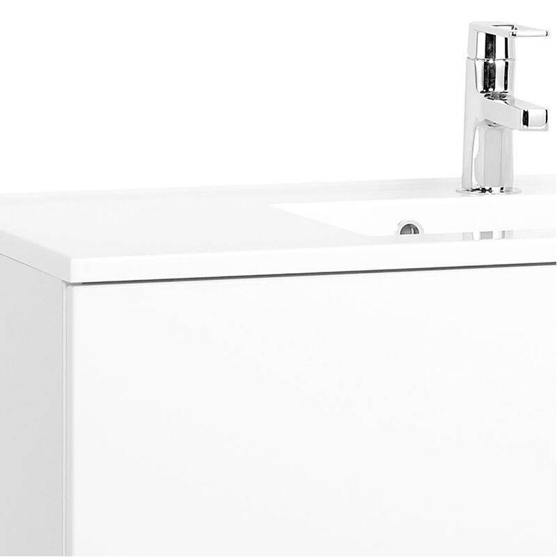 waschtisch padua 03 hochglanz wei 70cm loma. Black Bedroom Furniture Sets. Home Design Ideas