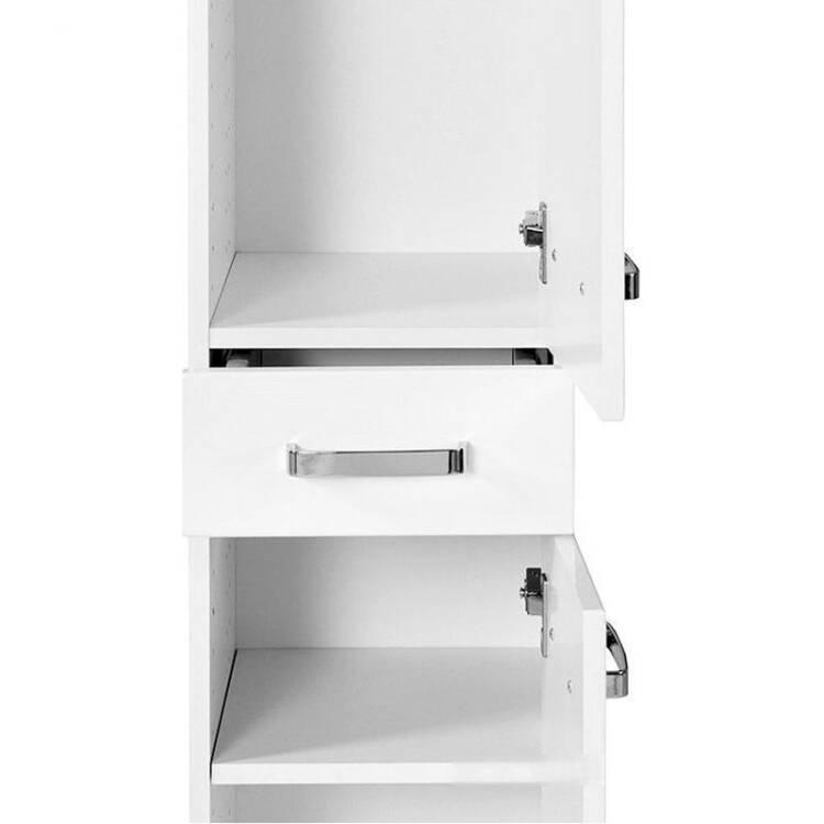 hochschrank padua 03 hochglanz wei lomado. Black Bedroom Furniture Sets. Home Design Ideas
