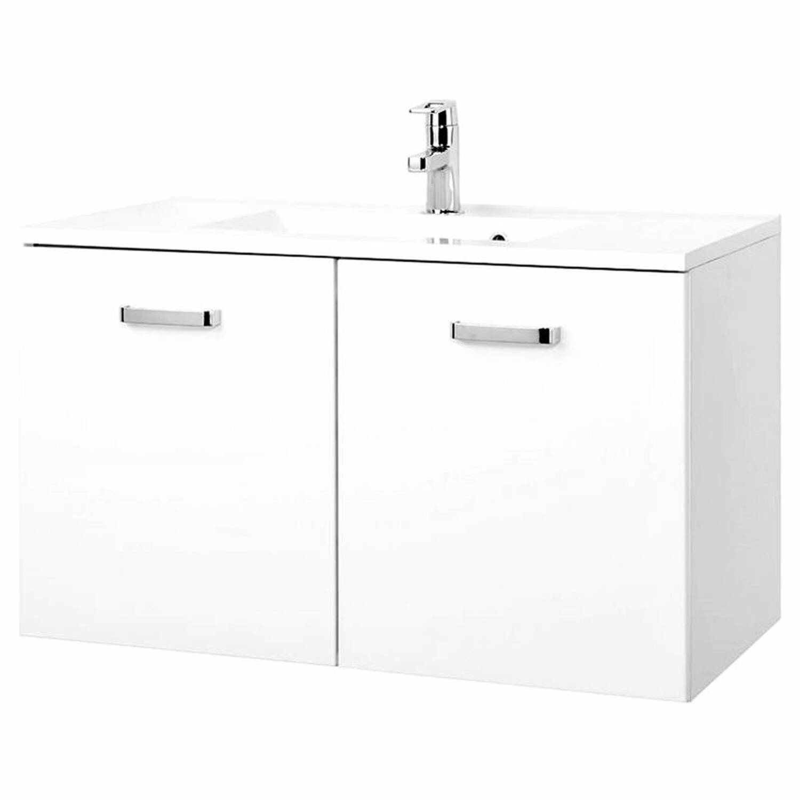 badm bel waschtisch set padua 03 hochglanz wei szl. Black Bedroom Furniture Sets. Home Design Ideas