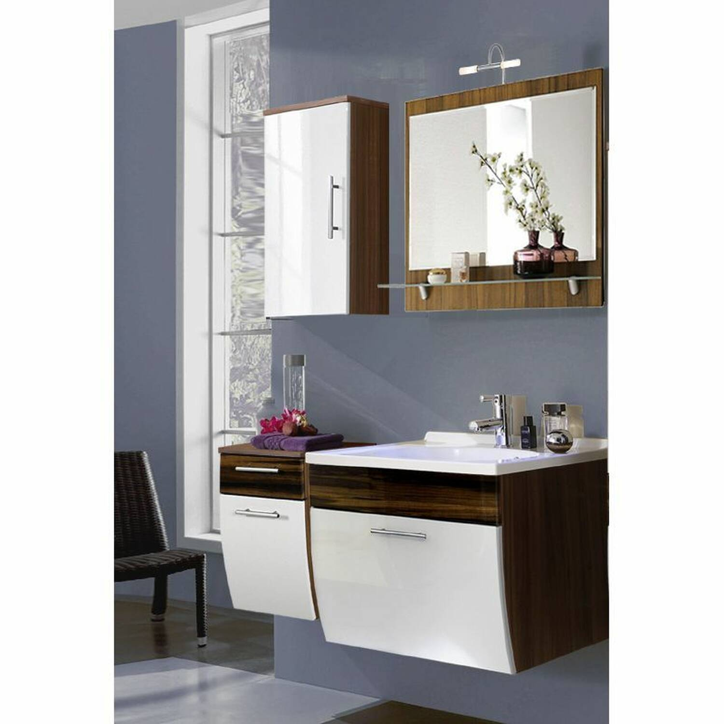 badm bel set talona 02 hochglanz wei wal. Black Bedroom Furniture Sets. Home Design Ideas