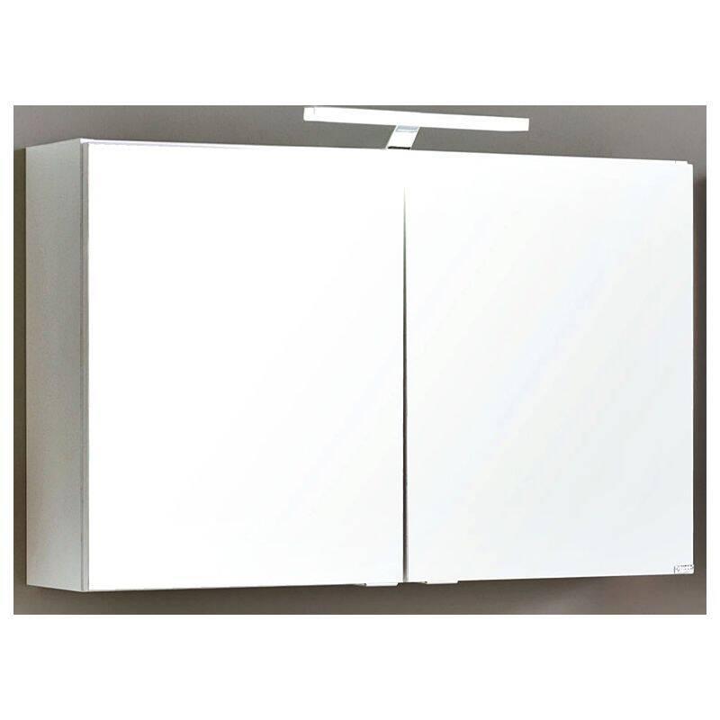 Spiegelschrank 80cm MERANO-03 weiß