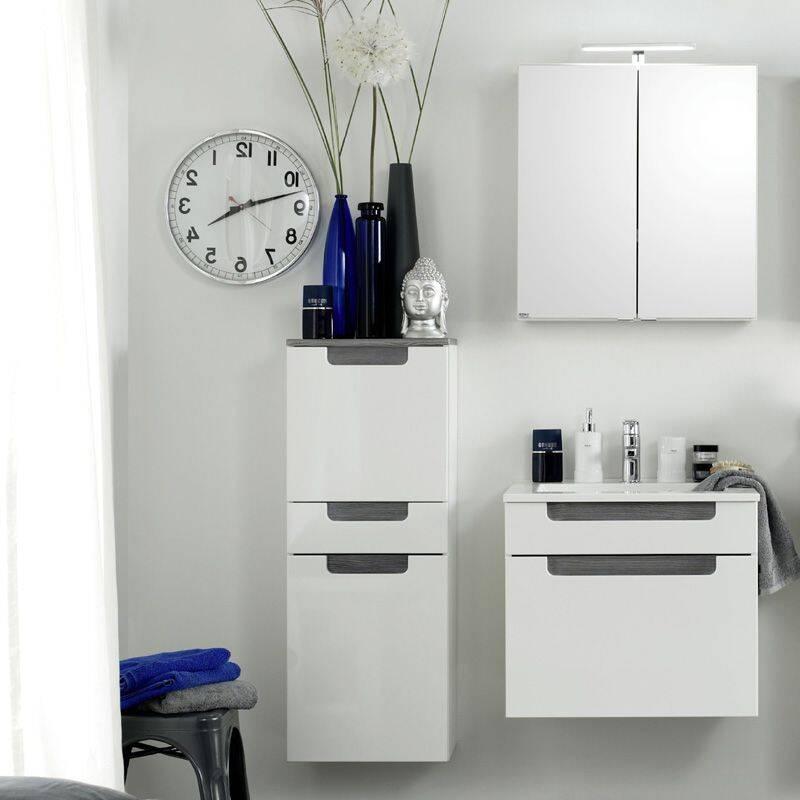 badm bel set merano 03 hochglanz wei eiche. Black Bedroom Furniture Sets. Home Design Ideas