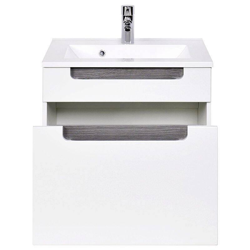 badm bel waschplatz set merano 03 hochglanz wei. Black Bedroom Furniture Sets. Home Design Ideas